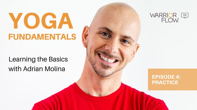 Yoga Fundamentals with Adrian Molina: Episode 4