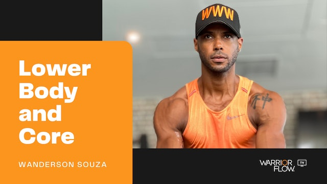 Lower Body and Core Workout with Wanderson Souza (27 mins)