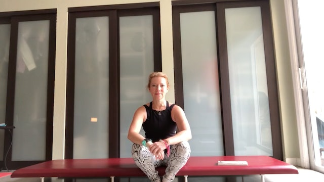 """Return to Life"" Pilates Mat with Sue Spinelli (40 mins)"