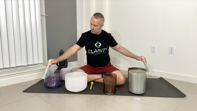Sound Relaxation with Dennis Hunter (30 mins)