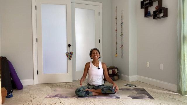 Sivananda Classic Yoga with Gabriela Fernandez: Part 1 (30 mins)