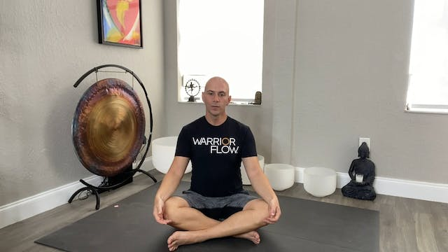 Yoga for Anxiety and Depression with Adrian Molina: Episode 1 (40 mins)