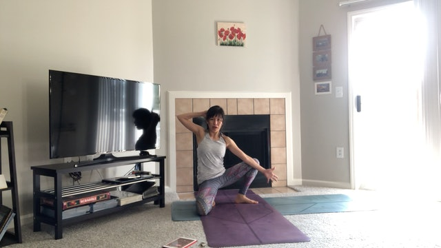 Full Body Yoga Stretch with Amy Wong (45 mins)