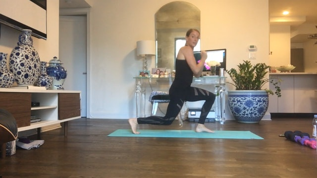 HIIT Ladder with Cheryl Geiser (30 mins)