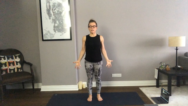 Hands-Free Vinyasa Flow with Margaret Schwarz (45 mins)