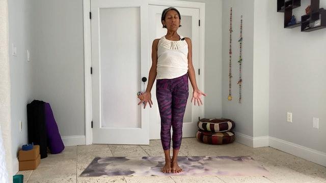 Power Yoga 30 with Gabriela Fernandez (34 mins)