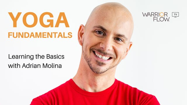 Yoga Fundamentals with Adrian Molina