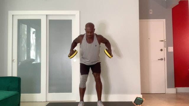 Upper Body Dumbbell Workout with Elmer Hickman (30 mins)