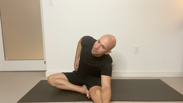 Yoga Before Bedtime with Adrian Molina (25 mins)