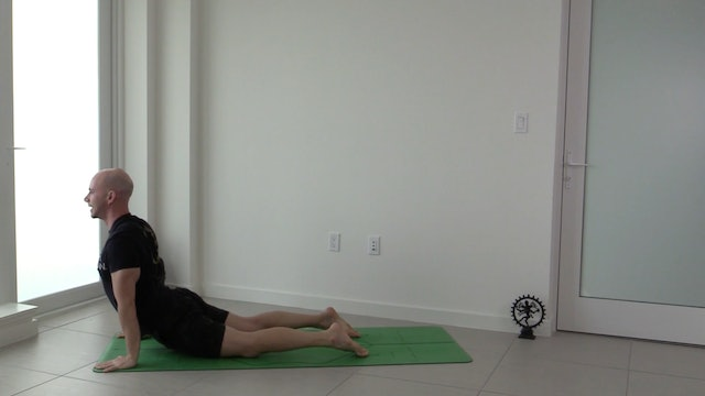 Sun Salutations Flow with Adrian Molina (30 mins)