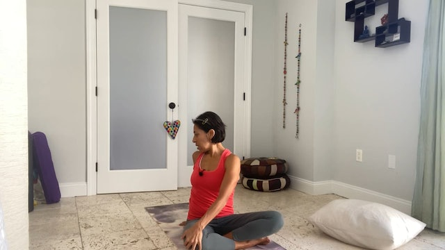Flow for the Hips with Gabriela Fernandez (40 mins)