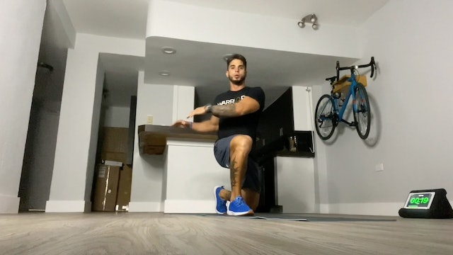 Mobility and Strength with Daniel Daniel (30 mins)