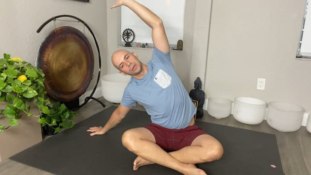 Yoga for Stress Reduction with Adrian Molina: Episode 4 (40 mins)