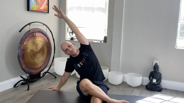 Yoga for Anxiety and Depression with Adrian Molina: Episode 2 (40 mins)