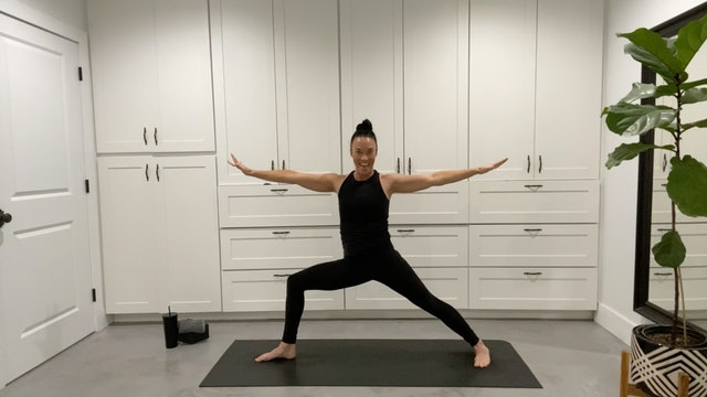 Express Power Flow with Sandy Roe (30 mins)