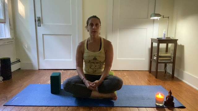 Simple Yoga Nidra with Andrea Borrero (20 mins)