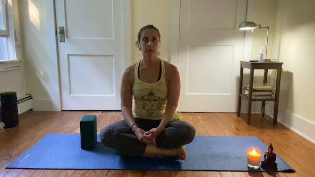 Simple Yoga Nidra with Andrea Borrero...