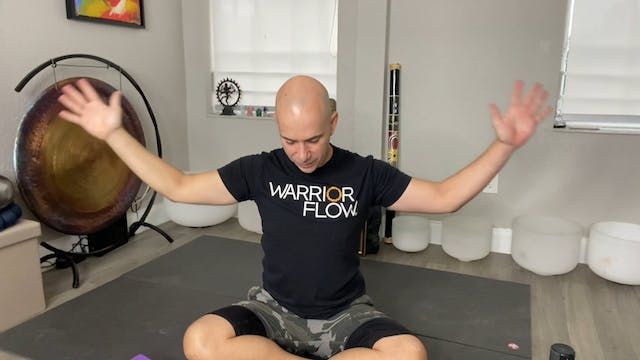 Yoga for Stress Reduction with Adrian Molina: Episode 7 (38 mins)