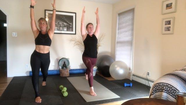 Yoga Sculpt with Holly Corey (30 mins)