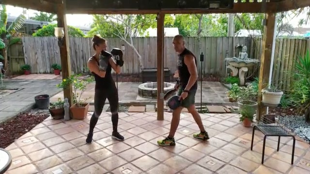 Boxing Basics with Angel Alicea (40 mins)