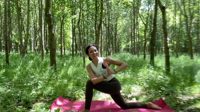 Forest Flow #2 with Yanti Amos (50 mins)