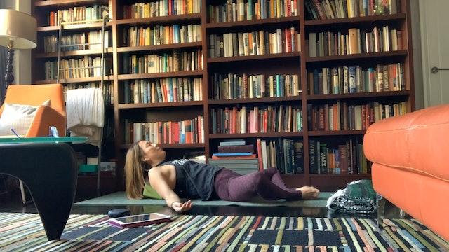 Heart-Opening Slow Flow with Yuliana Kim-Grant (60 mins)