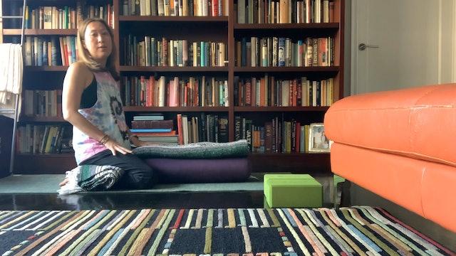 Yoga for Sciatica (Part 2) with Yuliana Kim-Grant (60 mins)