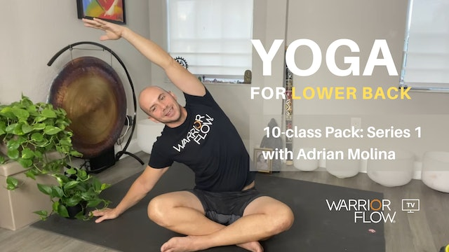 Yoga for Lower Back with Adrian Molina