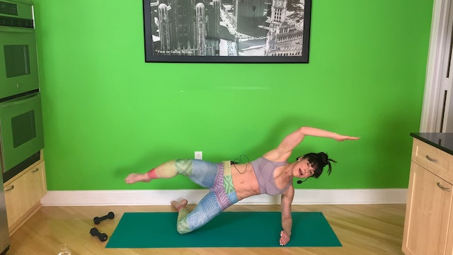 Barre Upper Body with Abbie Appel (30 mins)