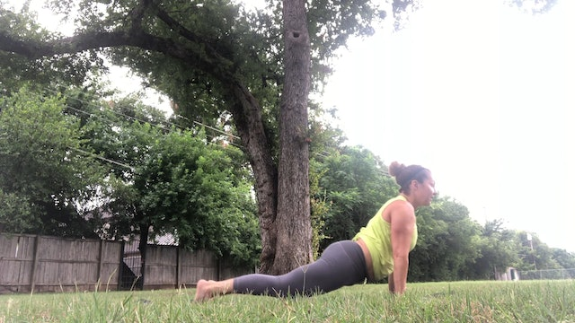 Yoga Flow with Core Outdoors (30 mins)