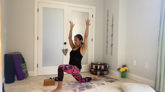 Hatha Yoga with Gabriela Fernandez (50 mins)