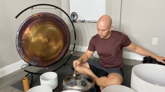 Sound Relaxation with Adrian Molina: Episode 4 (45 mins)