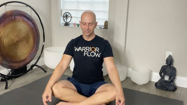 Yoga for Anxiety and Depression with Adrian Molina: Episode 3 (40 mins)