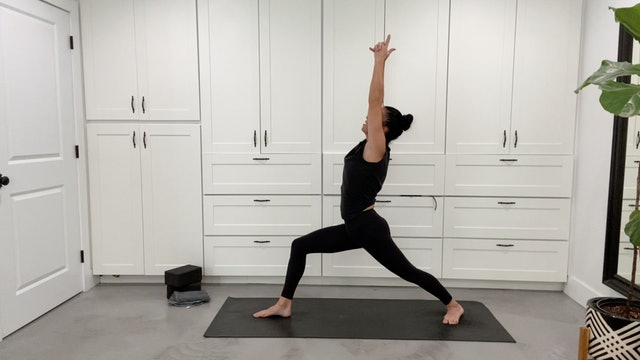 Vinyasa with Longer Holds with Sandy Roe (52 mins)