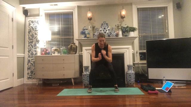 Tabata X4 with Cheryl Geiser (25 mins)