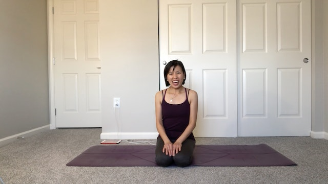 Spinal Flexibility with Amy Wong (35 mins)