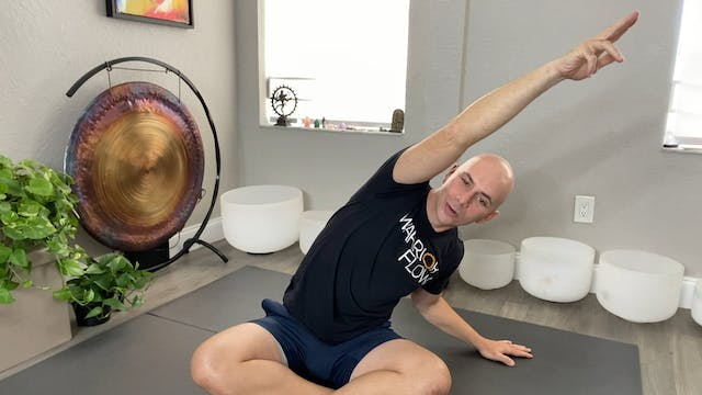 Yoga for Anxiety and Depression with Adrian Molina: Episode 9 (45 mins)