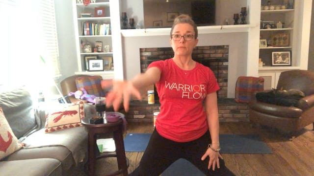 Stretch with Margaret Schwarz (45 mins)