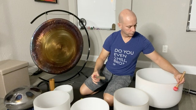 Sound Relaxation with Adrian Molina: Episode 7 (42 mins)