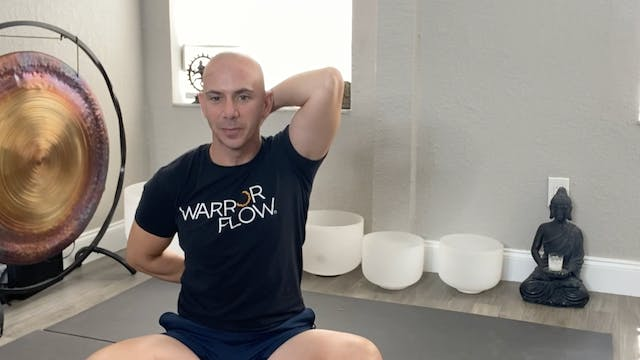 Yoga for Stiff Neck and Shoulders with Adrian Molina: Episode 1 (40 mins)