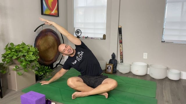 Yoga for Lower Back with Adrian Molina: Episode 7 (41 mins)