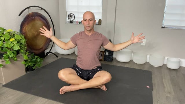 Yoga for Anxiety and Depression with Adrian Molina: Episode 4 (42 mins)