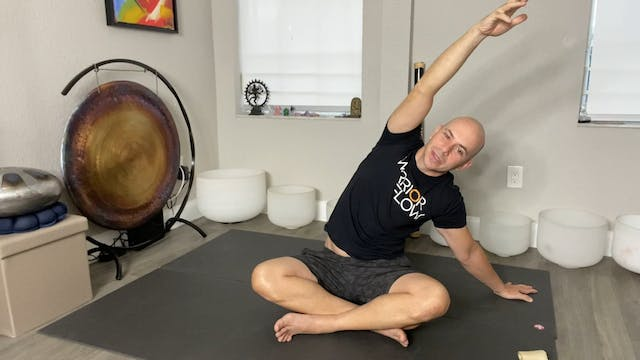 Yoga for Stress Reduction with Adrian Molina: Episode 8 (43 mins)
