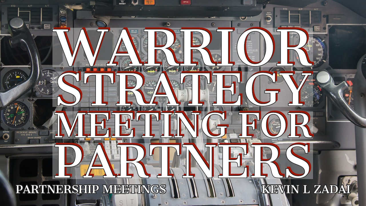 Warrior Strategy Meeting for Partners