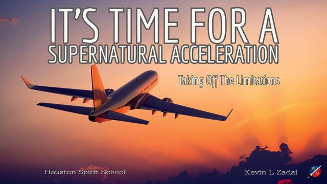 It's Time For A Supernatural Accelera...