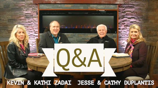 Live Q&A With Kevin and Kathi Zadai & Special Guests Jesse and Cathy Duplantis
