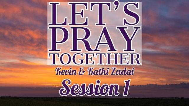 Let's Pray Together: Session 1