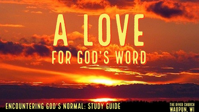 A Love For God's Word   - Kevin Zadai - Part 1