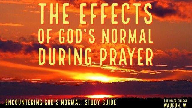 The Effects Of God's Normal During P...
