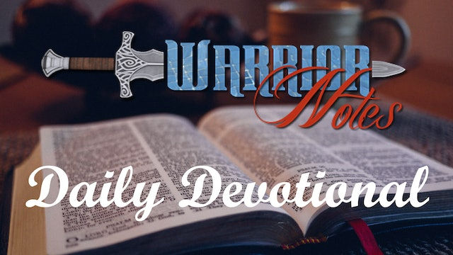 """Today's Daily Devotion 04/11/21 is Titled """"Walking in the Spirit"""""""